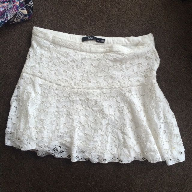 White Sportsgirl Skirt