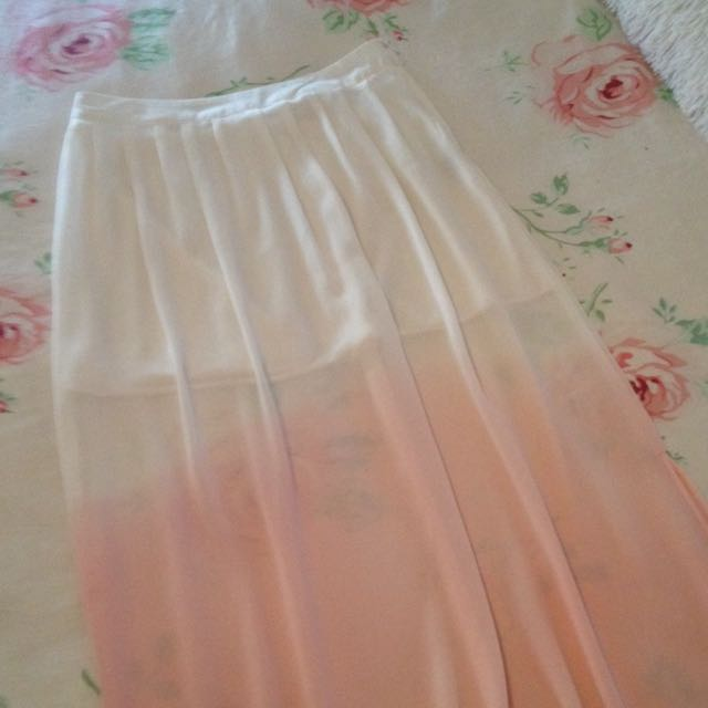 Womens Gorgeous Chiffon Skirt Long