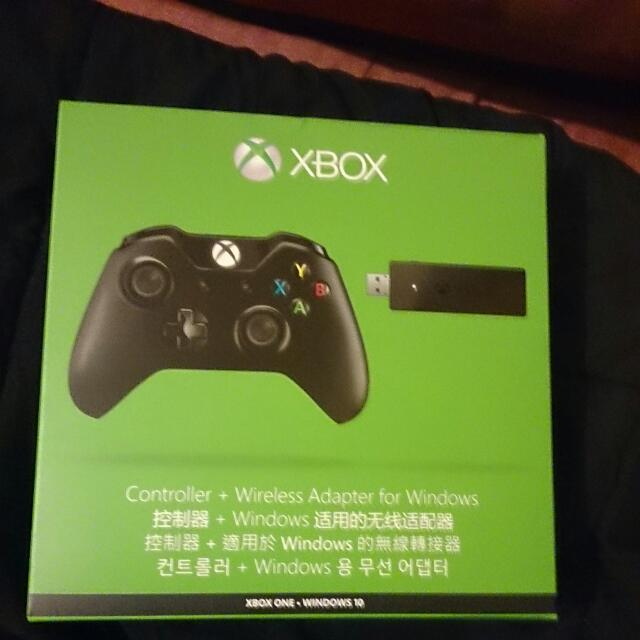 Xbox One Controller + Wireless Adapter For Windows (Xbox One - Windows 10)