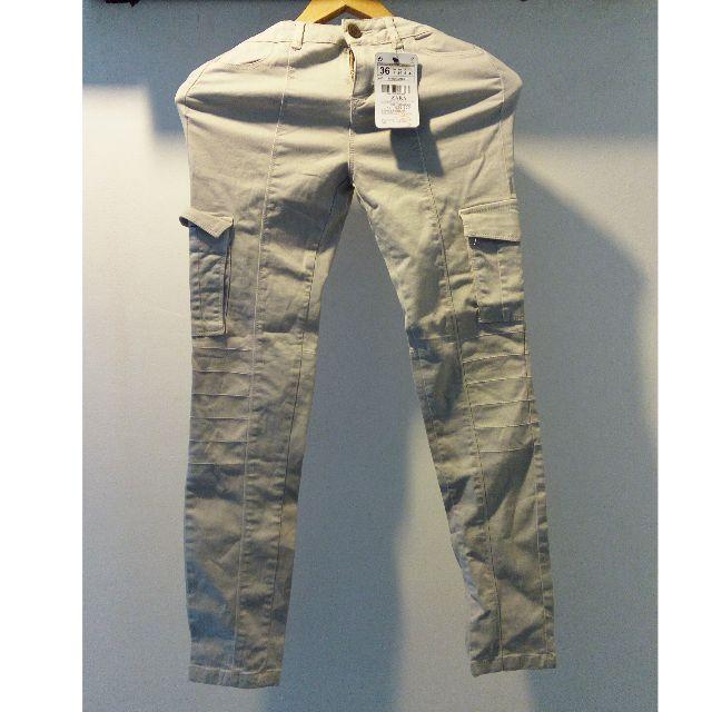 ZARA Basic Women Cargo Pants (BRAND NEW WITH TAG)