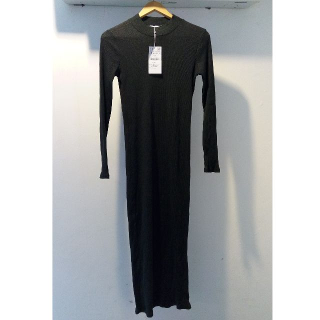 ZARA TRAFALUC Black Long Dress - Fall Winter Collection (BRAND NEW WITH TAG)