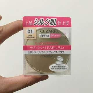 Cezanne防曬蜜粉餅