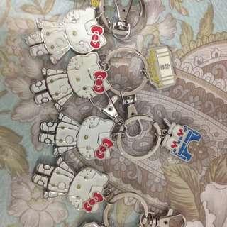 kitty 紀念款鑰匙圈