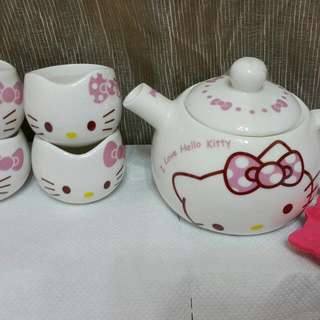 Hello Kitty 壺杯組
