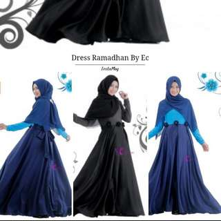 Dress Muslim,  Dress Edisi Ramadhan,  Fashion Muslim 2016