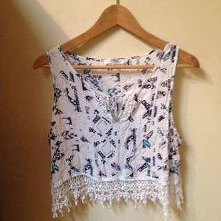 Tribal Crop Size L