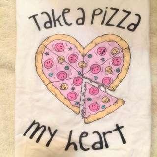 Lazybone Take A Pizza My Heart T