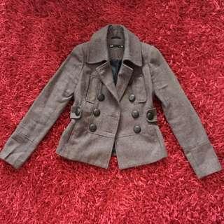 Dotti Wool Blazer Jacket Size 6