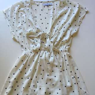 Pepper Mayo Spotty Playsuit