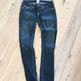 True Religion Dark Denim Jeans