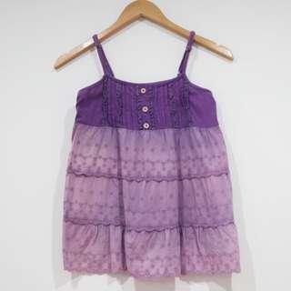 Lace Purple Top