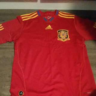 Spain Jersey From Adidas