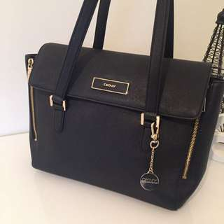 Authentic DKNY Leather Bag