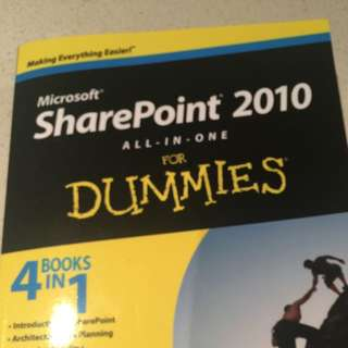 SharePoint 2010 For Dummies - 4 Books In One