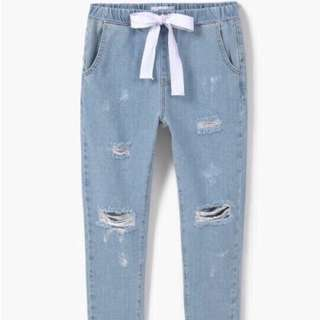 Mango Jogging Denim