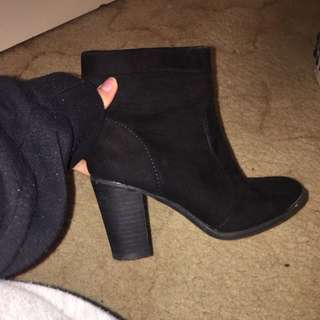 All Black Boots