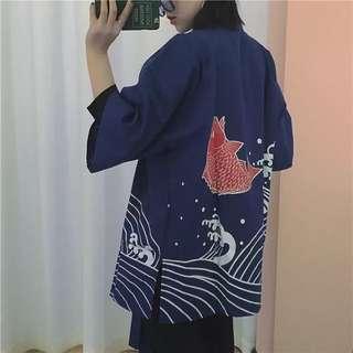 全新 日式和服開衫外套👘