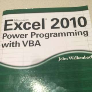 Excel - Power Programming With VBA