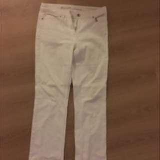 David Lawrence White Jeans
