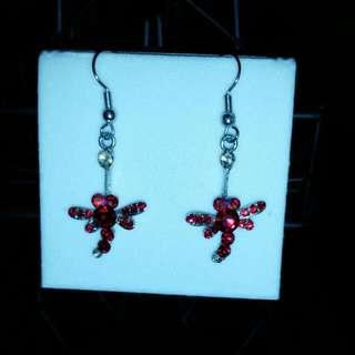 Handmade Dragonfly Earrings