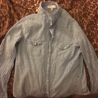 Cotton On Striped Shirt Thin Long Sleeved