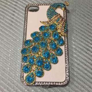 Peacock iPhone 5 Hard Case