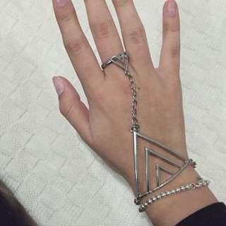 Ring-to-wrist Bracelet