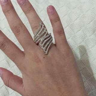 Chunky Diamante Women's Ring