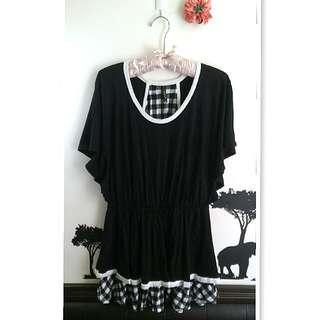 💙uniqlo聯名款黑色洋裝💙