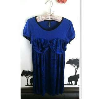 💙uniqlo聯名款藍色洋裝💙
