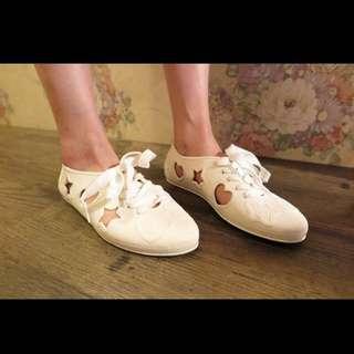 F-TROUPE 果凍鞋 雨季時尚(穿過一次)