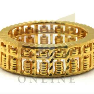 Ring (Eternity Abacus 916 Gold)
