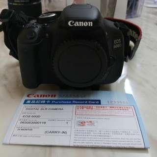 Canon EOS 600D (淨BODY)