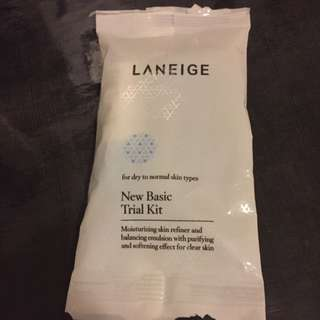 Laneige Trial Skincare Kit (dry to normal skin)