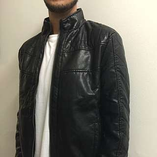 Nice PU Leather Jacket *Never Used*