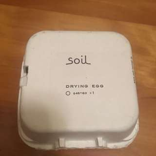 Soil珪藻土雪櫃吸濕吸臭味蛋 (日本製)