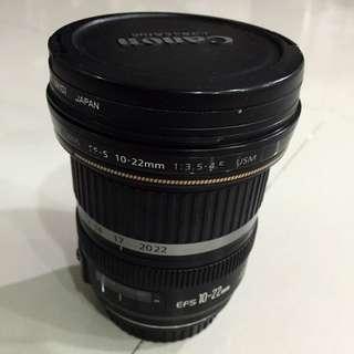Canon EFS 10-22mm f/3.5-4.5 USM