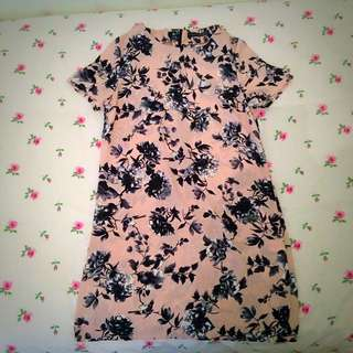 Blush Pink Dress (relaxed fit) Size 10