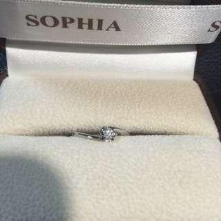 Sophia 蘇菲亞 鑽戒