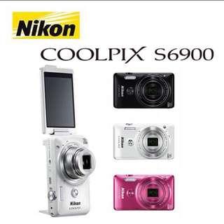 平價自拍機 Nikon S6900(國外機)