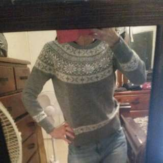Christmas Style Pattern Jumper