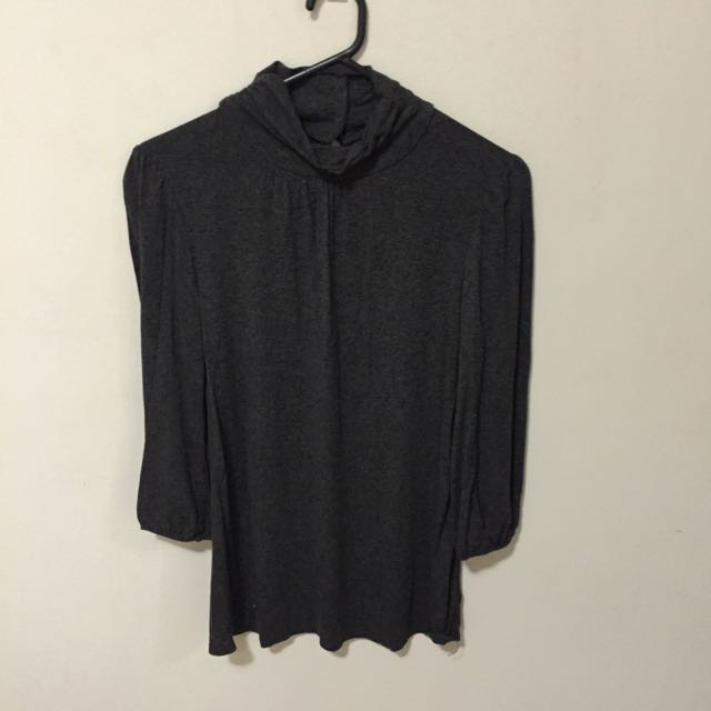 3/4 Turtle Neck Top Size 14
