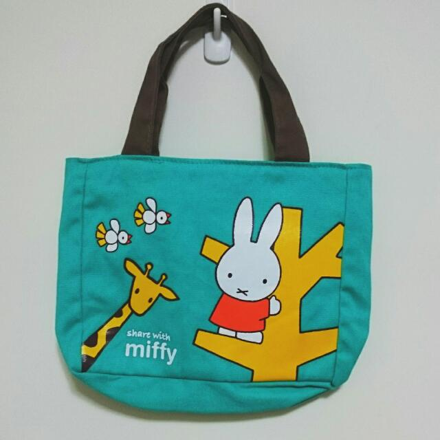 7-11 miffy 米飛兔帆布手提袋 city Coffee