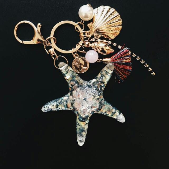 海底世界 海星吊飾/鑰匙圈