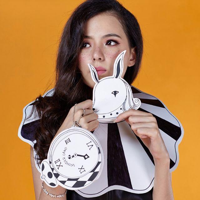 【預購】原創設計馬戲團樂園迷你韓版創意零錢包 手工可愛鑰匙包