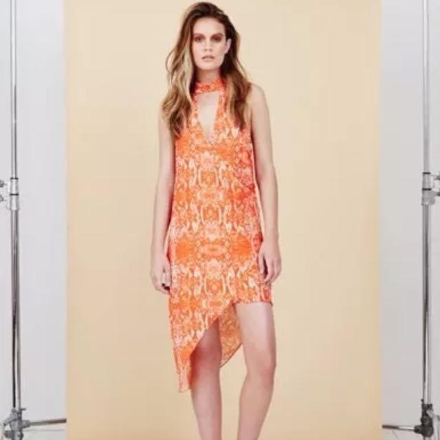 Bec And Bridge Deep V Dress