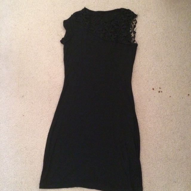 Black Bodycon Dress M