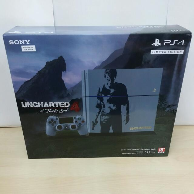 Brand New Ps4 500gb Uncharted 4 A Thief S End Limited Edition