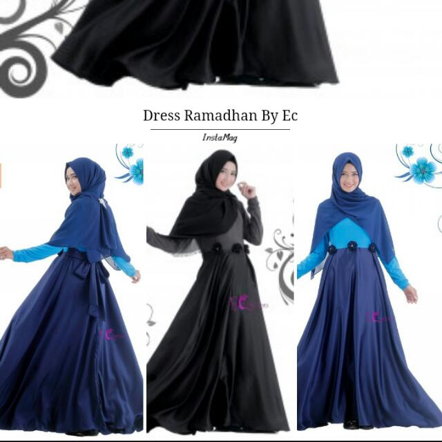 Dress Muslim,  Dress Edisi Ramadhan,  Fashion Muslim 2016