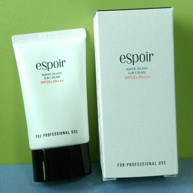 Espoir Water Splash Sun Cream 水感防曬霜 Spf50 Pa+++